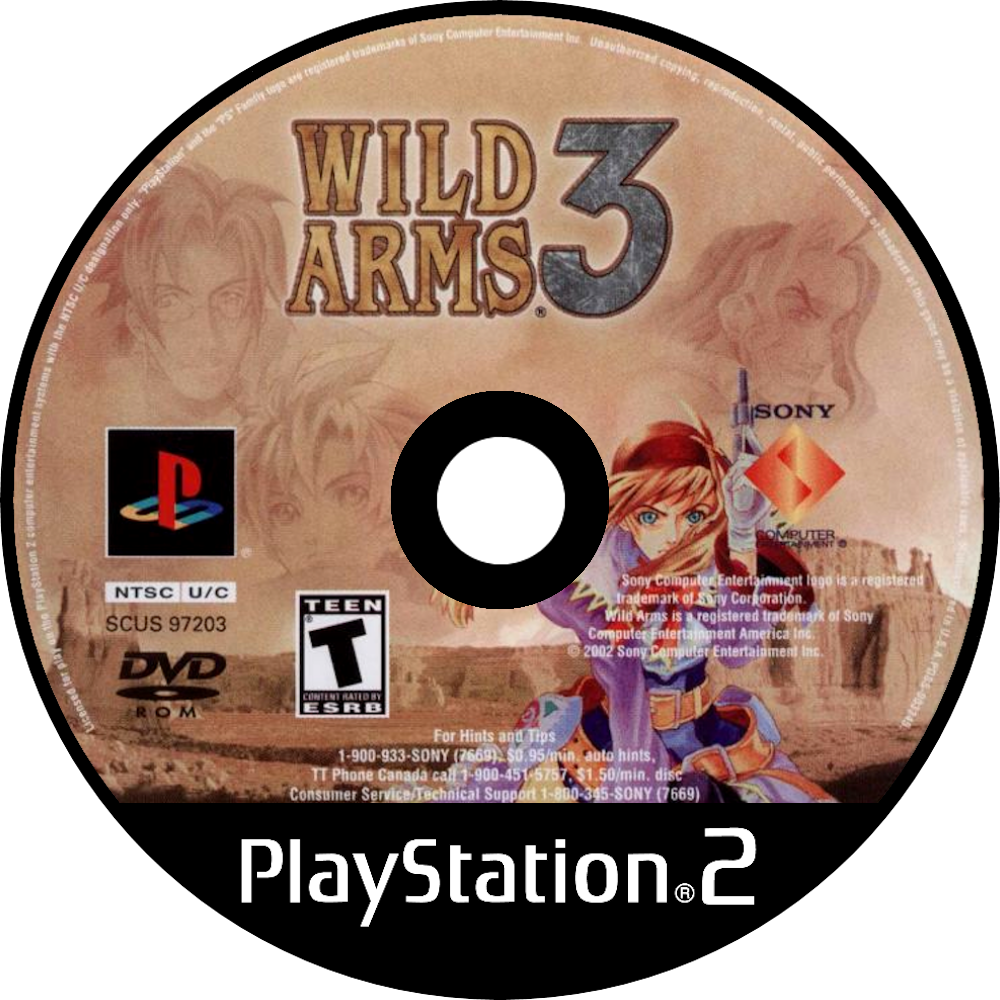Wild Arms 3 Details Launchbox Games Database