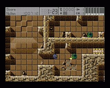 Universal Warrior - Screenshot - Gameplay