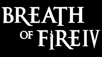 Breath of Fire IV - Clear Logo