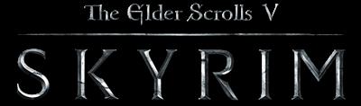 The Elder Scrolls V: Skyrim - Clear Logo