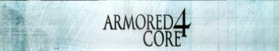 Armored Core 4 - Banner