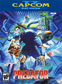 Alien vs. Predator - Fanart - Box - Front