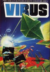 Virus - Advertisement Flyer - Front