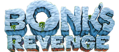 Bonk's Revenge - Clear Logo