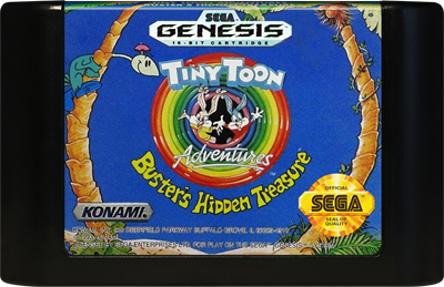 Tiny Toon Adventures: Buster's Hidden Treasure - Cart - Front