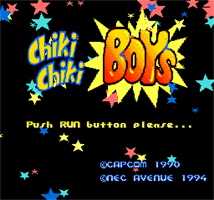 Chiki Chiki Boys - Screenshot - Game Title