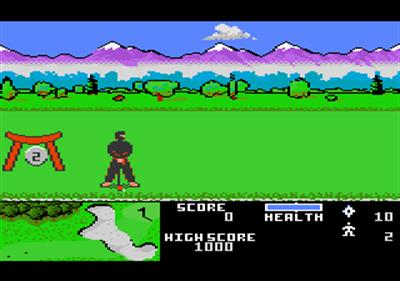 Ninja Golf - Screenshot - Gameplay