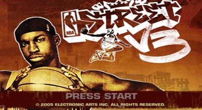 NBA Street V3 - Screenshot - Game Title