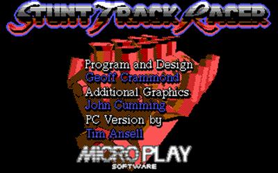 Stunt Track Racer - Screenshot - Game Title