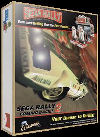 Sega Rally 2 Championship - Box - 3D