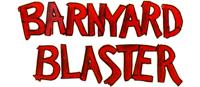 Barnyard Blaster - Clear Logo