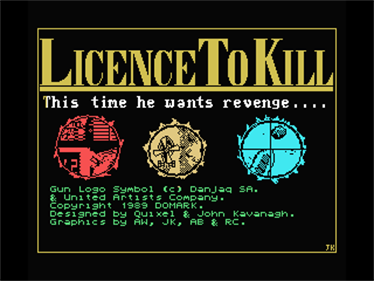 007: Licence to Kill - Screenshot - Game Title