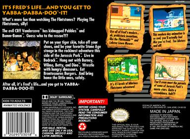 The Flintstones - Box - Back