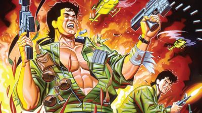 Ikari Warriors - Fanart - Background