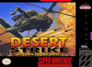 Desert Strike: Return to the Gulf - Fanart - Box - Front