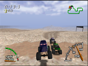 Monster Truck Madness 64 - Screenshot - Gameplay