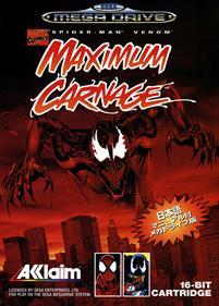 Spider-Man & Venom: Maximum Carnage - Box - Front