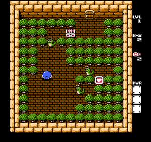 Adventures of Lolo 3 - Screenshot - Gameplay