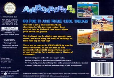 Air Boarder 64 - Box - Back