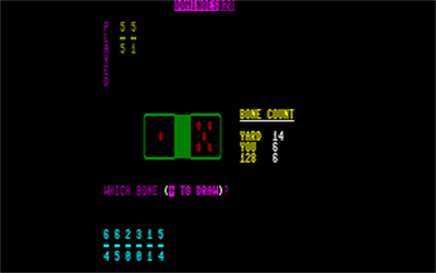 Dominoes 128 - Screenshot - Gameplay