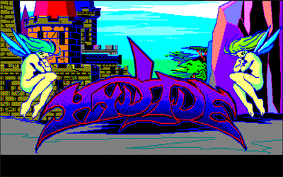 Hydlide - Screenshot - Game Title