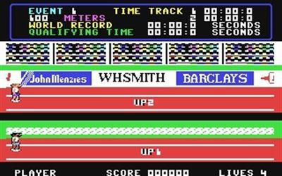 Daley Thompson's Decathlon - Screenshot - Gameplay