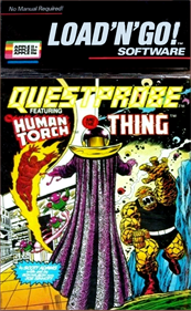 Questprobe 3: The Human Torch and The Thing