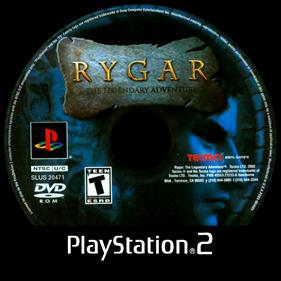 Rygar: The Legendary Adventure - Disc