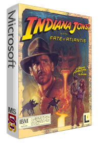 Indiana Jones and the Fate of Atlantis - Box - 3D