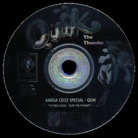 Quik the Thunder Rabbit - Disc