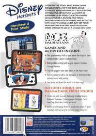 Disney Hotshots: Disney's 101 Dalmatians - Box - Back