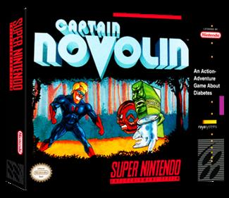 Captain Novolin - Box - 3D