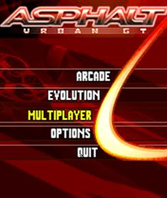 Asphalt: Urban GT - Screenshot - Game Title