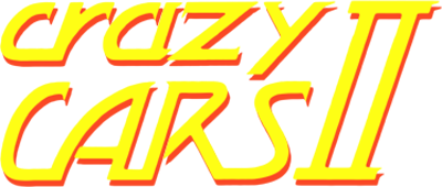 Crazy Cars II - Clear Logo