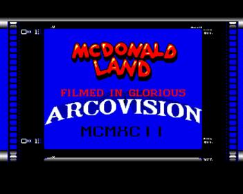 McDonaldland - Screenshot - Game Title