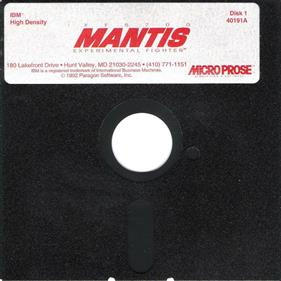 XF5700 Mantis Experimental Fighter - Disc