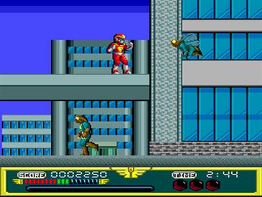 Busou Keiji: Cyber Cross - Screenshot - Gameplay