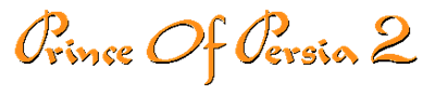 Prince of Persia 2: The Shadow & The Flame - Clear Logo