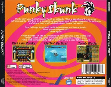 Punky Skunk - Box - Back