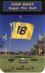 Chip Shot: Super Pro Golf - Arcade - Controls Information
