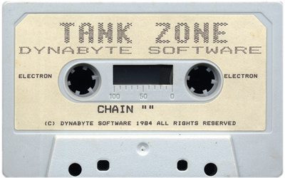 3-D Tank Zone - Cart - Front