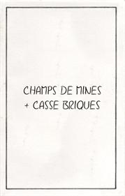Champs De Mines + Casse Briques