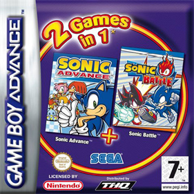 2 Games in 1: Sonic Advance + Sonic Battle