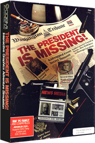 The President is Missing - Box - 3D