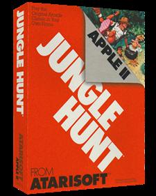 Jungle Hunt - Box - 3D