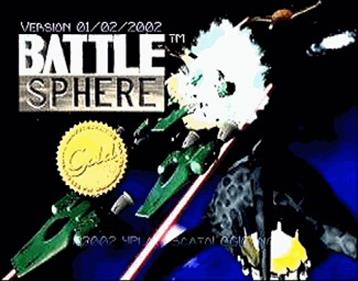 BattleSphere Gold - Screenshot - Game Title