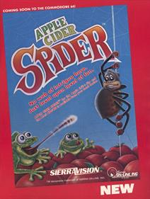 Apple Cider Spider - Advertisement Flyer - Front