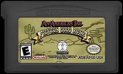 An American Tail: Fievel's Gold Rush - Cart - Front