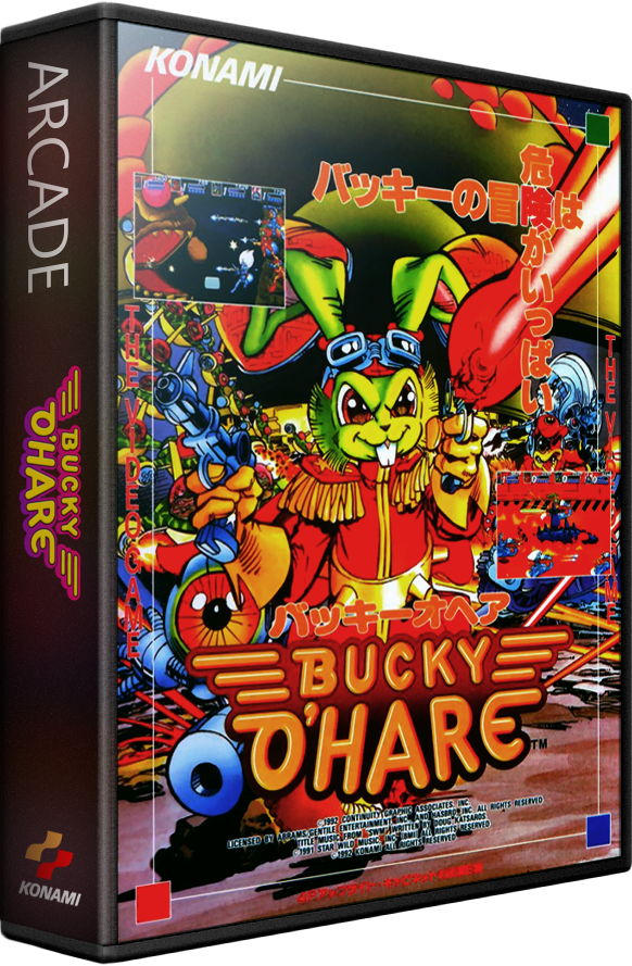 bucky ohare details launchbox games