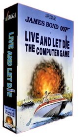 James Bond 007: Live and Let Die: The Computer Game - Box - 3D